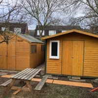 Is it cheaper to buy a shed or build your own?