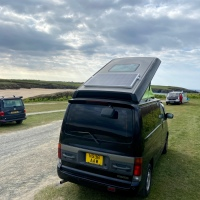 How to install a solar panel on a Mazda Bongo / Ford Freda